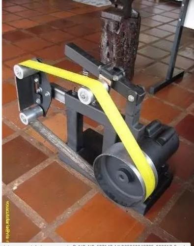 projeto lixadeira de cinta p/ cutelaria marcenaria detalhado