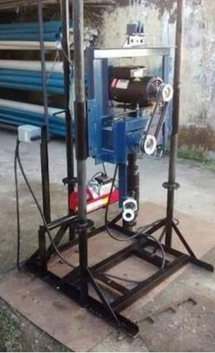 projeto maquina de poço artesiano madelo a diesel e elétrico