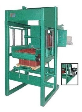 projeto máquina para blocos e pisos de concreto cimento