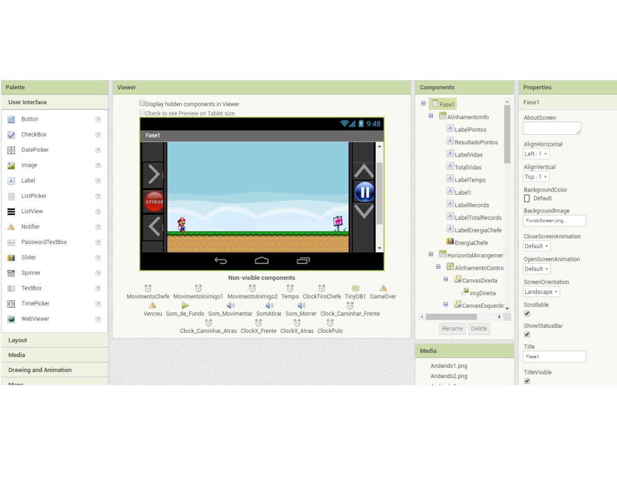 Projeto Mario Android Com App Inventor - Envio Por Download