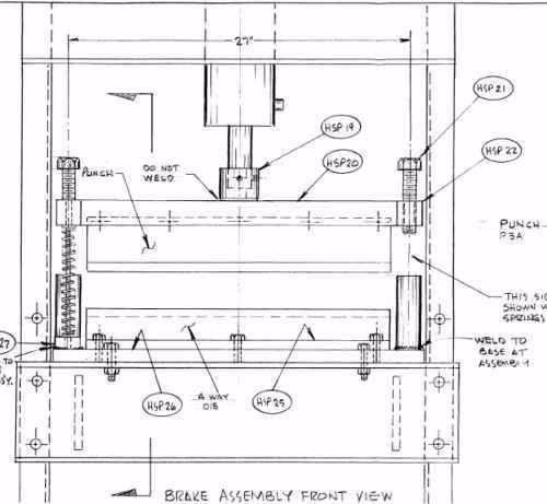 projeto mecânico prensa hidráulica 25 toneladas + 3 brindes