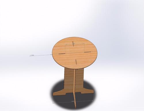 projeto ( mesa bistrô )
