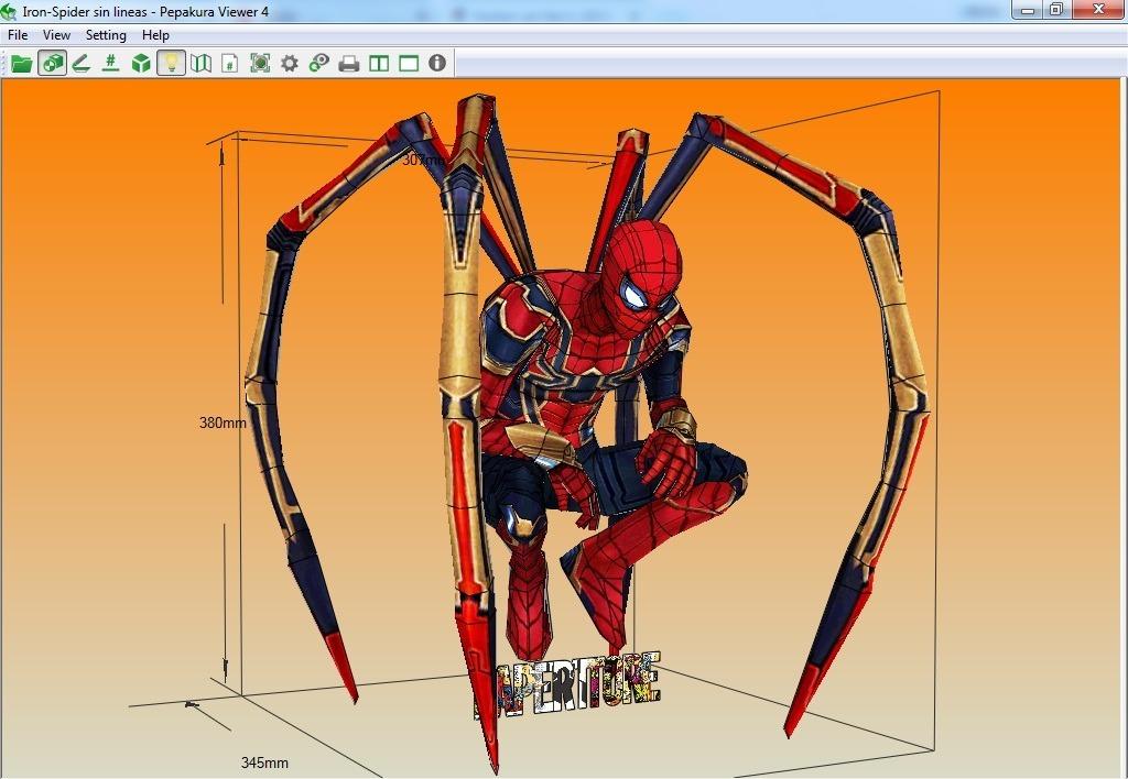 Projeto Papel 3d Homem Aranha Para Montar R 13 99 Em Mercado Livre