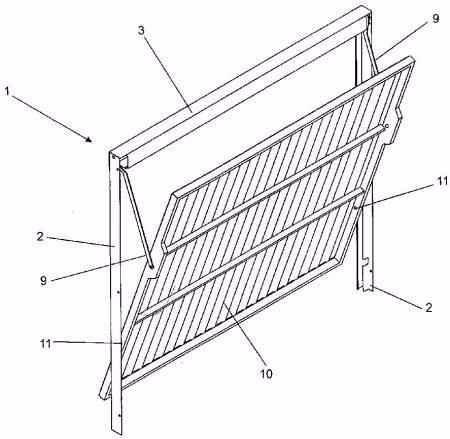 projeto portao de ferro madeira aluminio basculante motor