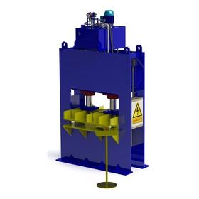 Projeto Prensa Hidráulica 150 Ton. Arquivos Cad - Solidworks