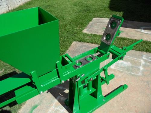 projeto prensa tijolo ecologico hidraulica+3brindes