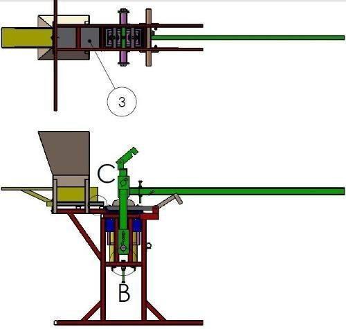 projeto prensa tijolo ecológico+triturador de solo + barato