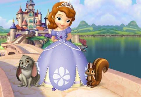 projeto proshow princesa sofia - para retrospectiva infantil