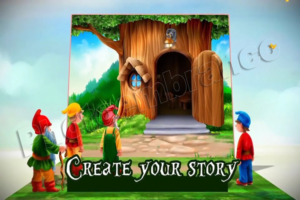 Projeto Template After Effects Pop Up Book Creator Infantil