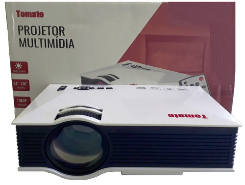 projetor 1200 lumens data show wireless wifi oferta promoção, data-show portátil mp3 documento txt usb sd av hdmi vga ir
