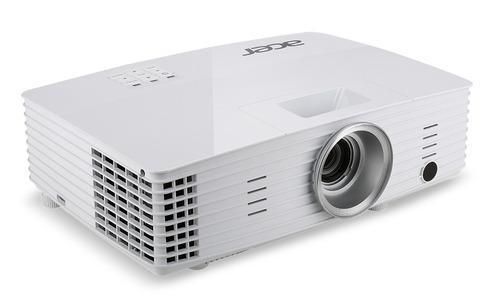 projetor acer p1185 3200 lumens svga conexões vga hdmi/mhl