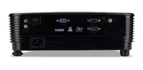 projetor acer x1123h 3600 lumens hdmi svga conexoes vga