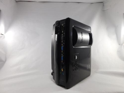 projetor benq mp515 2500 ansi l muito conservado(na caixa)
