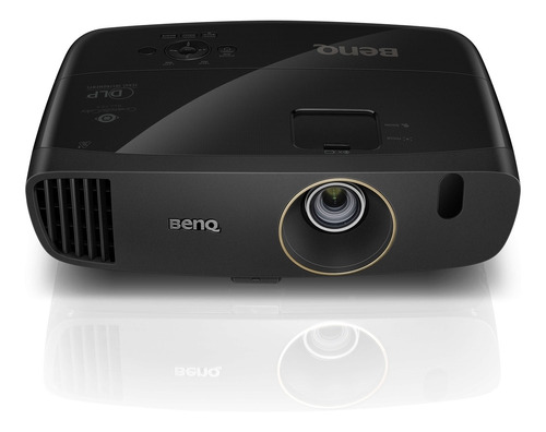 projetor benq w2000+ full hd para cinema em casa com rec.709