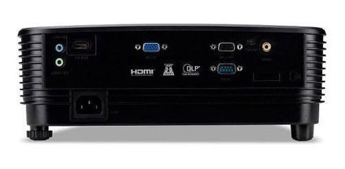 projetor data show 3600 lumens svga preto hdmi telão filmes