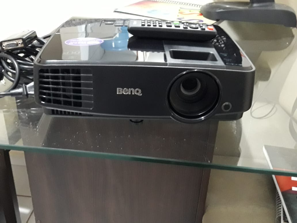 Projetor Datashow 3200 Lumens Svga 800x600 Ms506 Benq R 1300 Ms 506p Projector Carregando Zoom