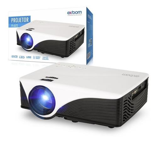 projetor datashow led profissional 1200 lumens hdmi vga usb