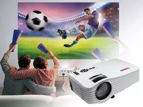 projetor de led full hd 1080p original tomate mpr-3003
