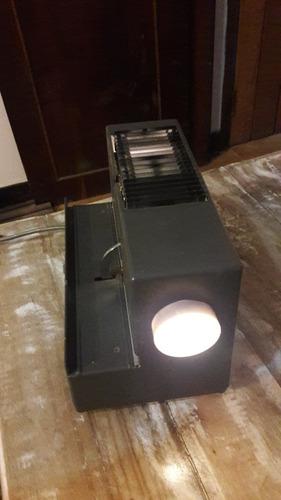 projetor de slides antigo braun