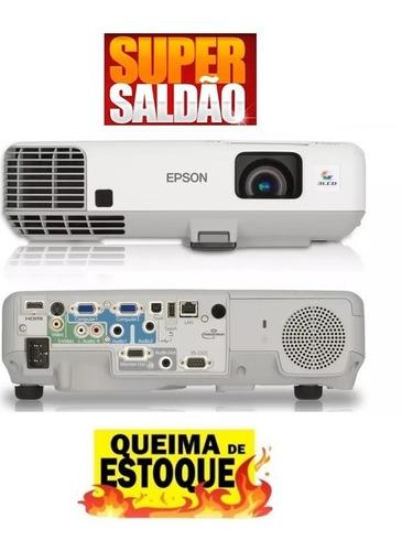 projetor epson 93+ 2600 lumens hdmi - promoção últimos dias!