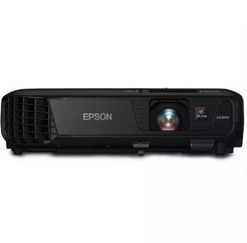 projetor epson powerlite s31 3200 lúmens, hdmi, usb,