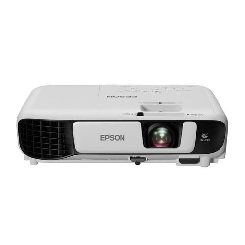 projetor epson powerlite s41+ 3 lcd svga 3300 lúmens v11h84