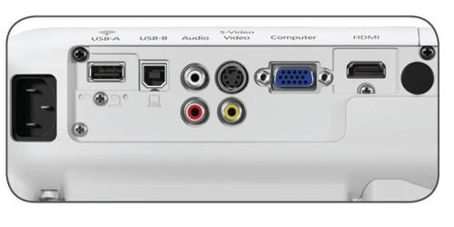 projetor epson powerlite x36+ 3600 lum. wifi + nf