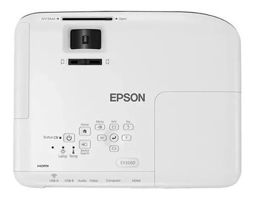 projetor epson s41+ branco salas de reuniões, salas apresentações de aulas,