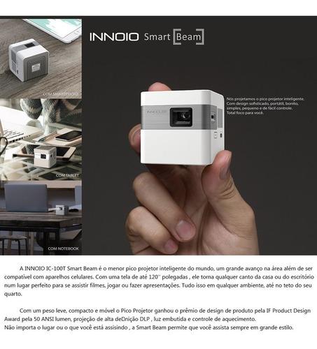 projetor innocube, innoio