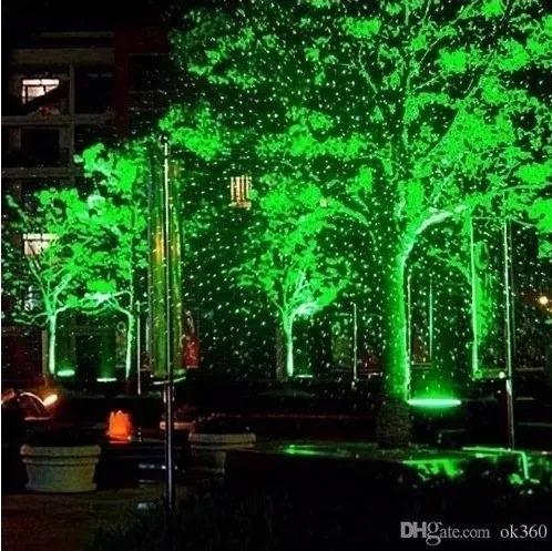 Projetor Laser Casa Jardim Luzes Natal Bivolt Led 5w