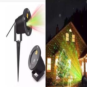 Projetor Laser Natal Casa  Arvore   Luz Natalino Bolinhas