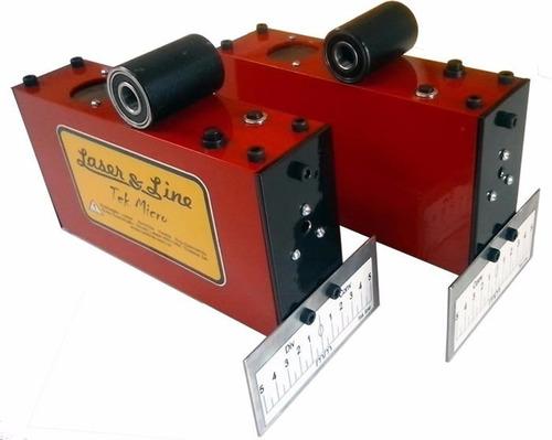 projetor laser para alinhamento de carros - cabeça laser