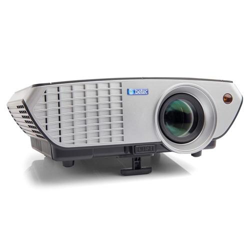 projetor led 2200 lumens - betec brasil - hdmi vga av usb