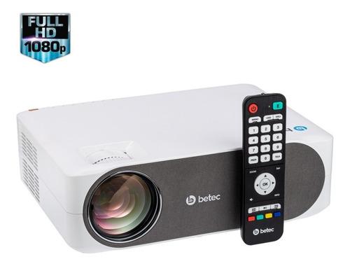 projetor led - 3400 lumens - betec bt960 - resolução full hd