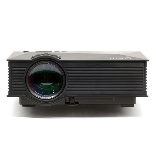 projetor led profissional uc46+ 1200 lumens hd hdmi novidade