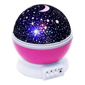 Projetor Luminária Abajur Estrelas Galaxy 360º Star Master