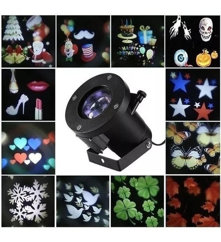 projetor luzes festas, haloween , pascoa , aniver natal