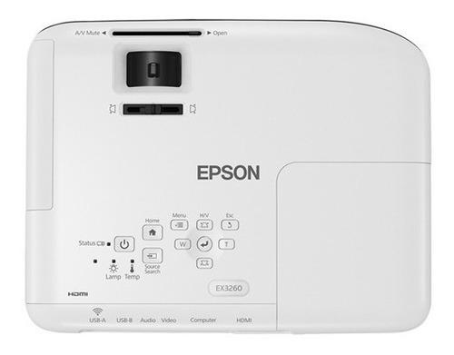 projetor multimidia epson powerlite s41 + 3 lcd 3300 lumens