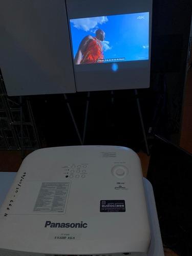 projetor panassonic pt vx 600 - 5.500 a.lumens