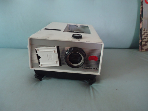 projetor paxmat braun nurberg década de 1960