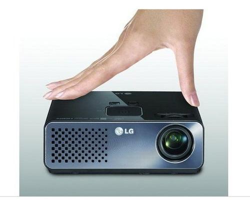 projetor portátil mini lg  led 300 lumens usb hdmi