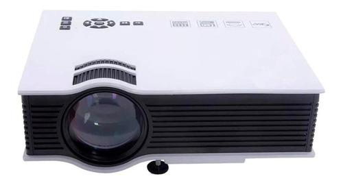 projetor portátil uc68 hdmi wifi espelha celular bivolt + nf