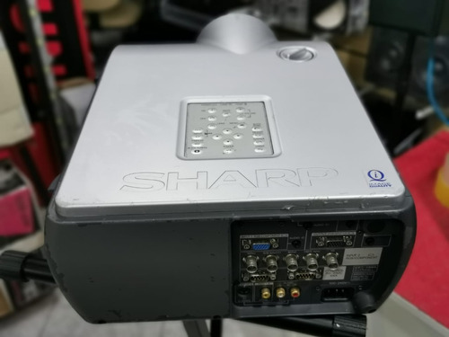 projetor sharp xg-p25x 4000 lums lampada 650 horas
