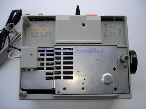 projetor slide agfacolor 50 automatic - restauro limpeza