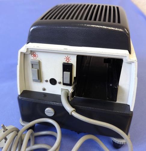 projetor slides braun paximat s + controle remoto + case