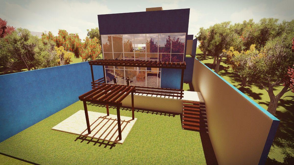 Projetos arquitet nicos planta baixa 3d fachada maquete for Compra de piscinas