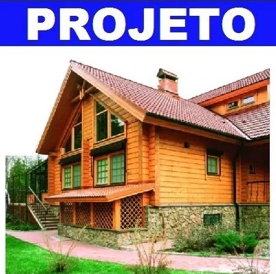 projetos casas de madeira 600 plantas baixas de casas r. Black Bedroom Furniture Sets. Home Design Ideas