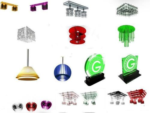 projetos corte laser e router puzzle3d