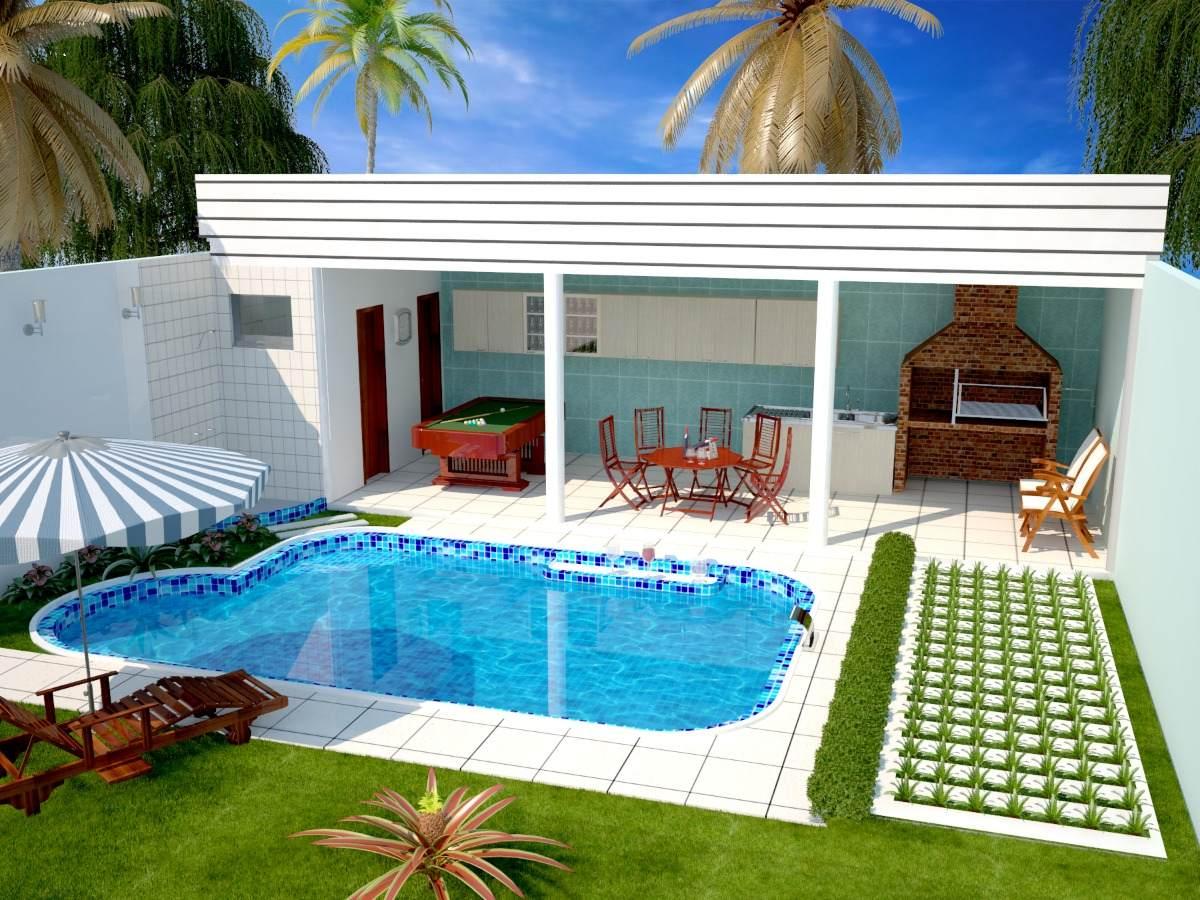 Projetos e plantas da ed cula hawaii cod 16 r 150 00 for Modelos de piscinas de campo