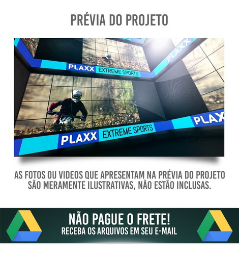 projetos editáveis premiere pro completo 7 volumes full hd